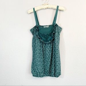 Kimchi Blue Urban Outfitters Floral Top